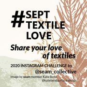 #SeptTextileLove